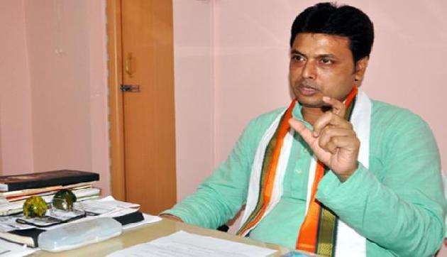 त्रिपुरा के नए मुख्यमंत्री बिप्लब कुमार देब ने मंत्रियों को किए विभाग आवंटित