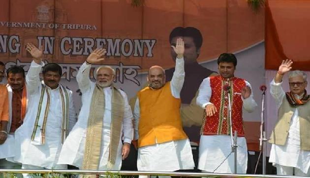 PM मोदी की राह पर चले बिप्लब देव, कहा- न खाऊंगा न खाने दूंगा
