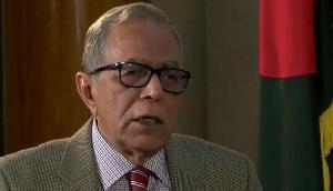 बांग्लादेश के राष्ट्रपति हामिद को असम में करना पड़ा विरोध प्रदर्शन का सामना