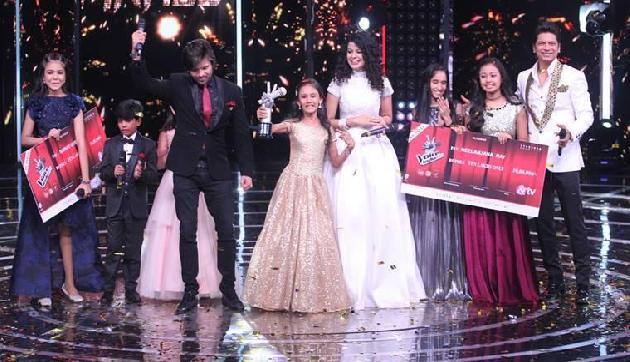 'द वॉयस इंडिया किड्स' सीजन 2 की विजेता बनी असम की मानसी सहारिया
