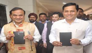 वित्त मंत्री हिमंत बिस्वा सरमा ने पेश किया असम का पहला ई-बजट,