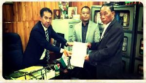 मेघालय: विधानसभा उपाध्यक्ष के लिए शिरा और नोंगरूम ने नामांकन पत्र भरा