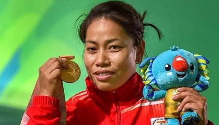 गरीबी से लड़कर मीराबाई चानू ने जीता गोल्ड