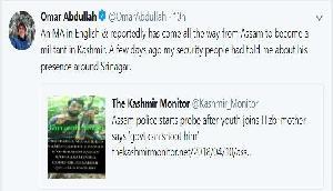असम के कमर उज जमां को लेकर उमर अब्दुल्ला ने किया चौंकाने वाला खुलासा
