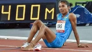 हार कर भी असम का दिल जीत गईं हीमा दास, हिमंता ने बढ़ाया हौसला