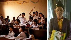 73 साल में स्कूल जाता है ये 'बच्चा', पढाई की ऐसी लगन देख स्कूल वाले भी हैं दंग
