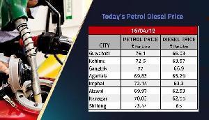 आज फिर इतना महंगा हो गया पेट्रोल और डीजल, तीन दिन से नहीं थम रही हैं कीमतें