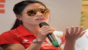 संन्यास के सवाल पर भड़की मैरीकॉम, बोली-अभी ओलम्पिक में जीतना है गोल्ड