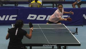 टेबल टेनिस में असम-राजस्थान की टीमों ने हासिल की जीत