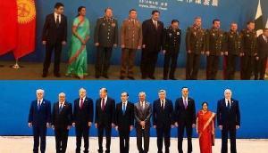 सोशल मीडिया में वायरल हो रही है सुषमा स्वराज और निर्मला सीतारमण की तस्वीरें