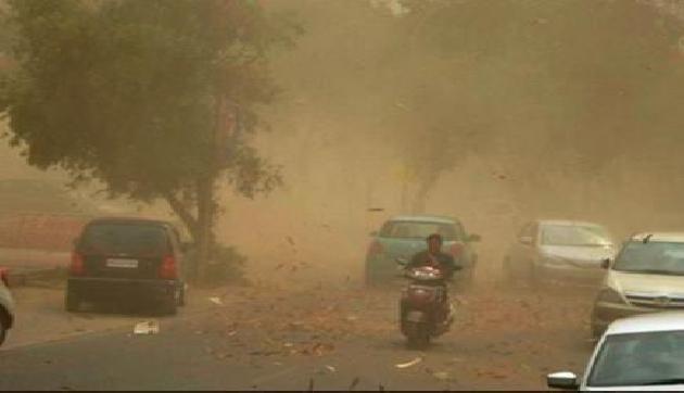 तूफान की दस्तक, 50-70 किलोमीटर प्रति घंटे की रफ्तार से चलेगी तेज आंधी, भारी बारिश की भी चेतावनी