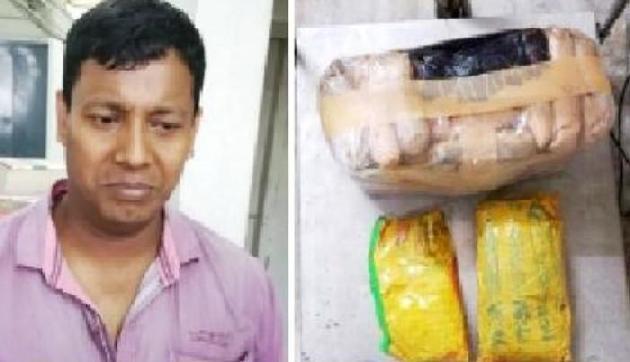 असमः भारी मात्रा में अफीम के साथ STF का जवान गिरफ्तार