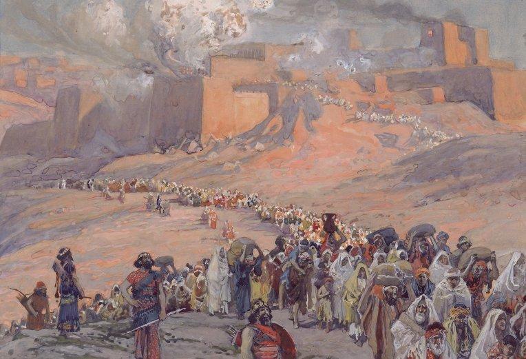 Resultado de imagen para destruccion de jerusalen por babilonia