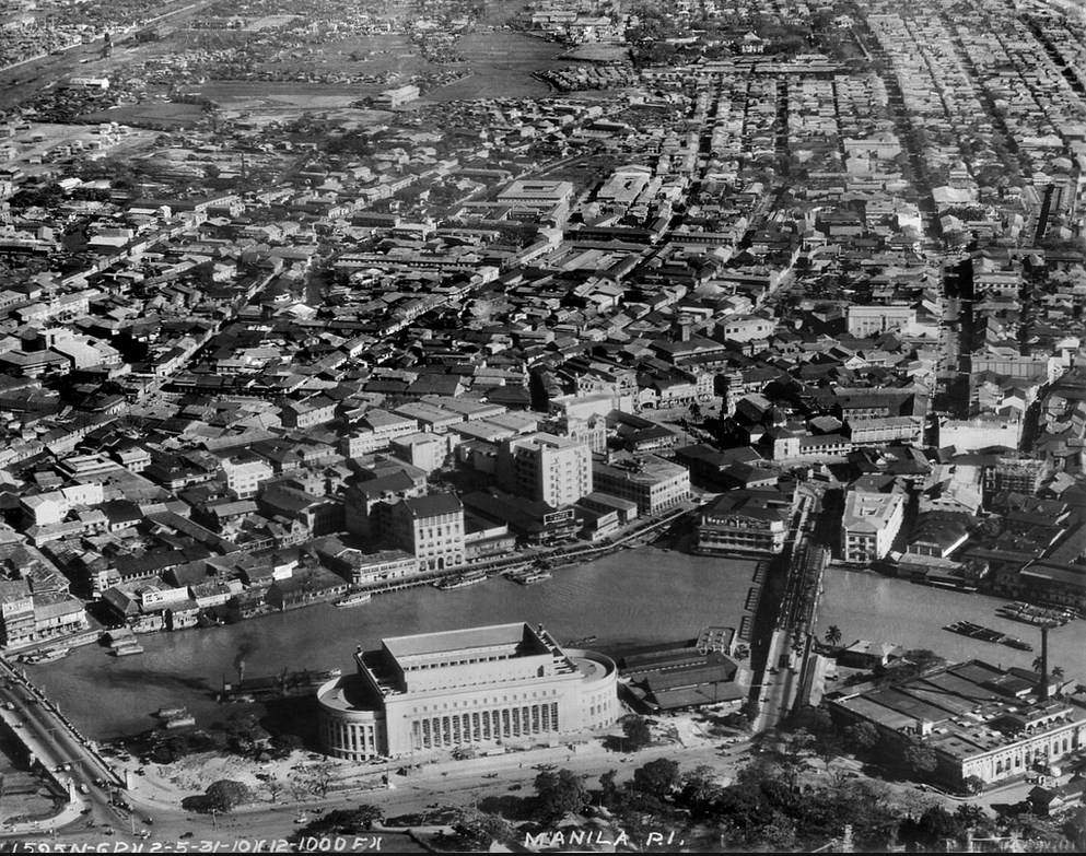 Manila những năm 1930.