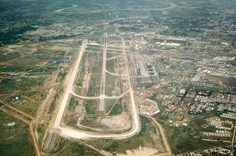 Sân bay Tân Sơn Nhất những năm 1970.