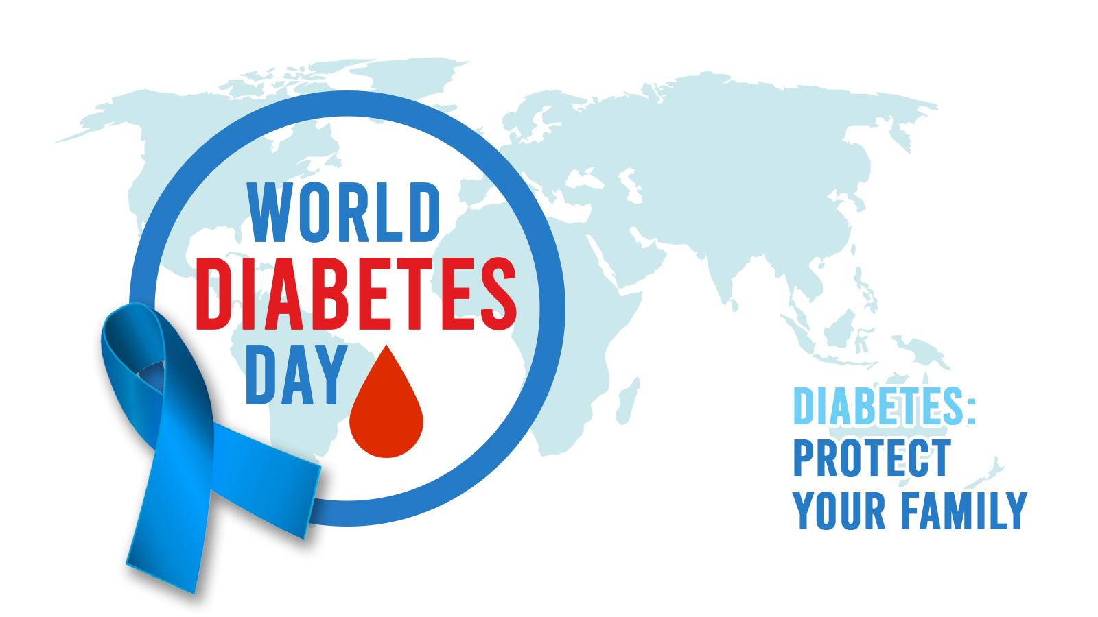 ကမာၻ႕ဆီးခ်ိဳ ေရာဂါ ေန႔(World Diabetes Day)