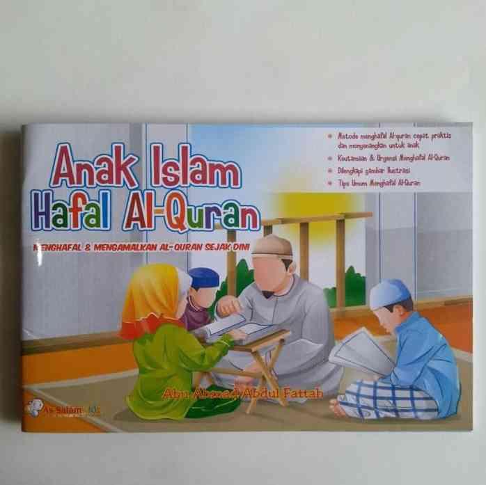 Buku Anak Islam Hafal Alquran Sejak Dini