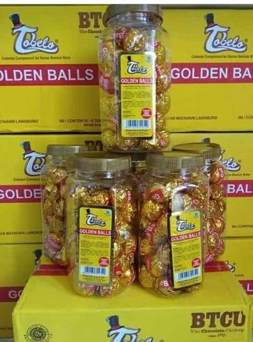 Tobello Golden Balls Isi 40Pcs (PO)