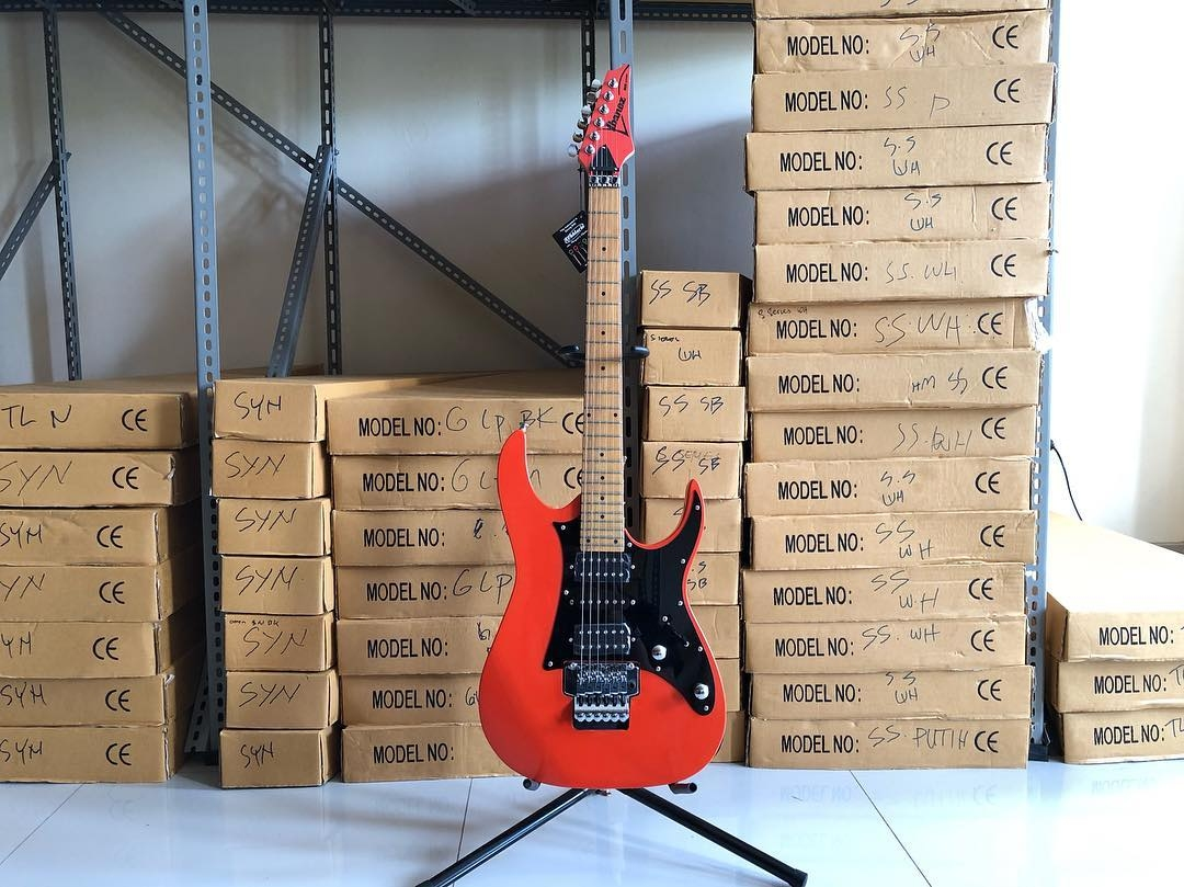 PROMO GITAR IBANEZ RG SERIES ORANGE