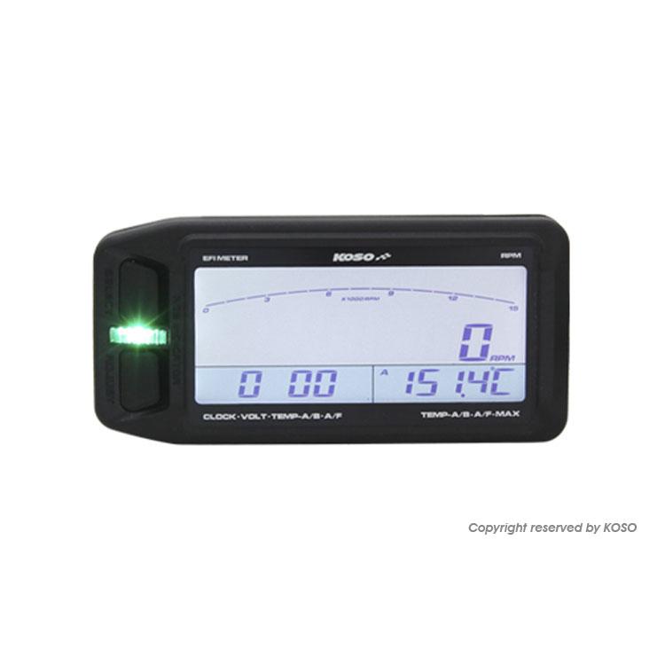 KOSO EFI Multi Meter RPM/TEMP/AFR/Clock Universal Type