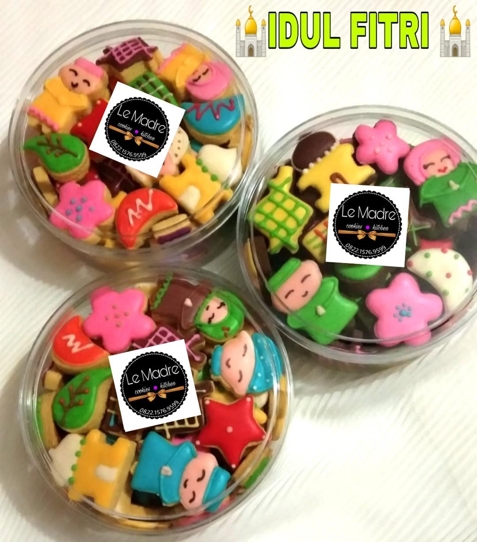 Cookies Character Idul Fitri