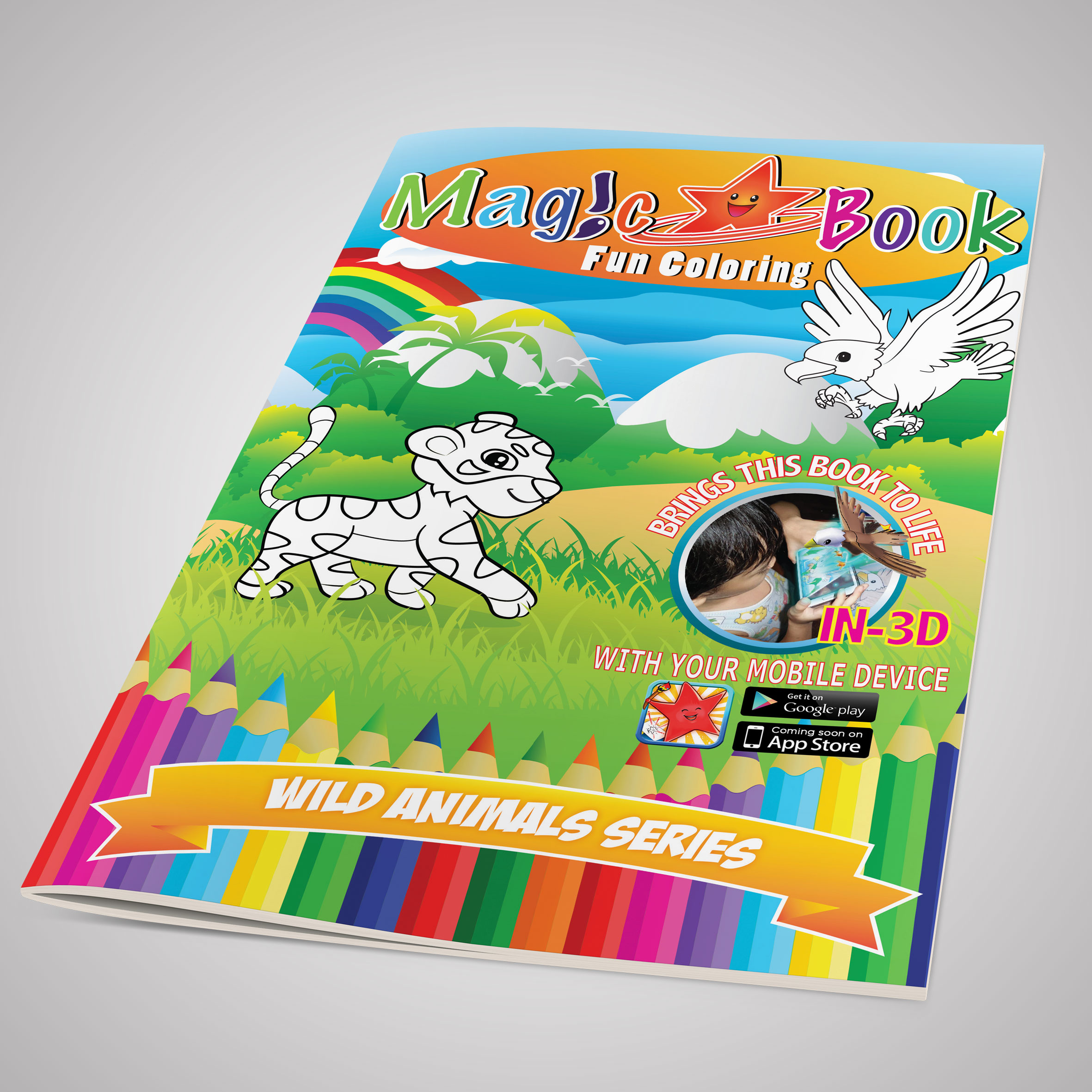 Magic Coloring Book AR: Animal