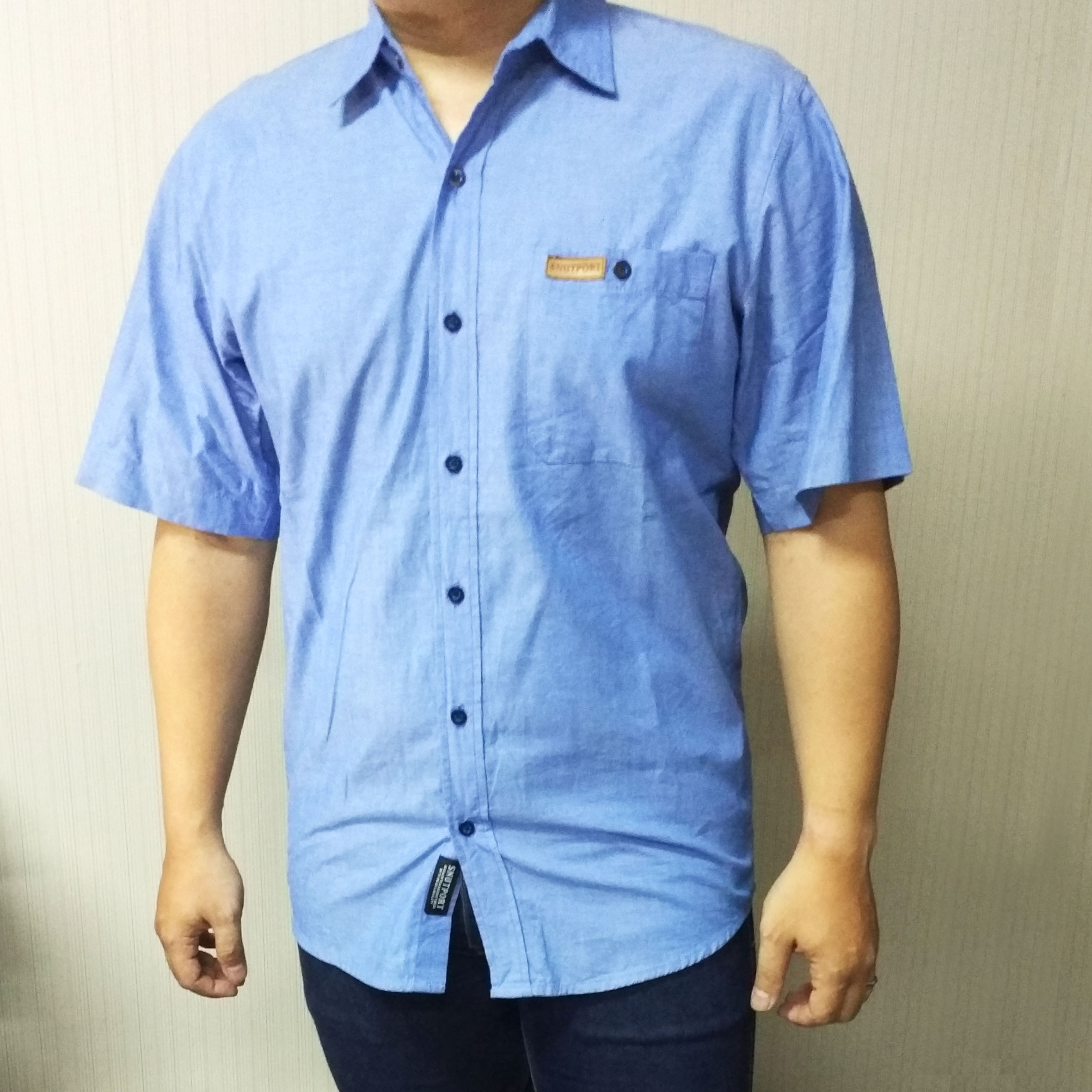 Snutport Blue Shirt