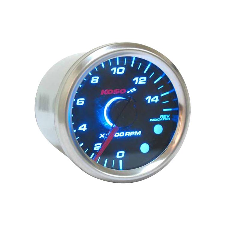 Koso GPII Style Meter RPM Blue Backlight