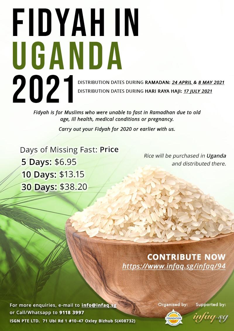 Fidyah in Uganda 2021