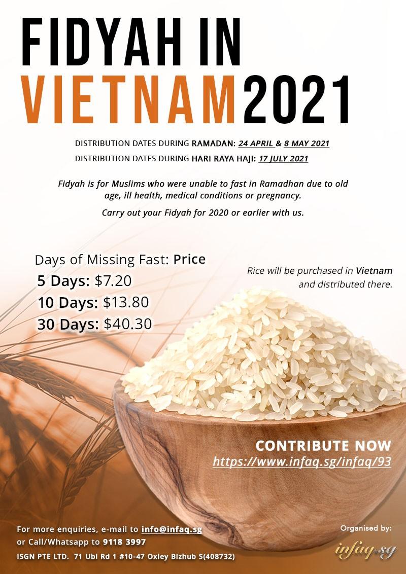 Fidyah in Vietnam 2021