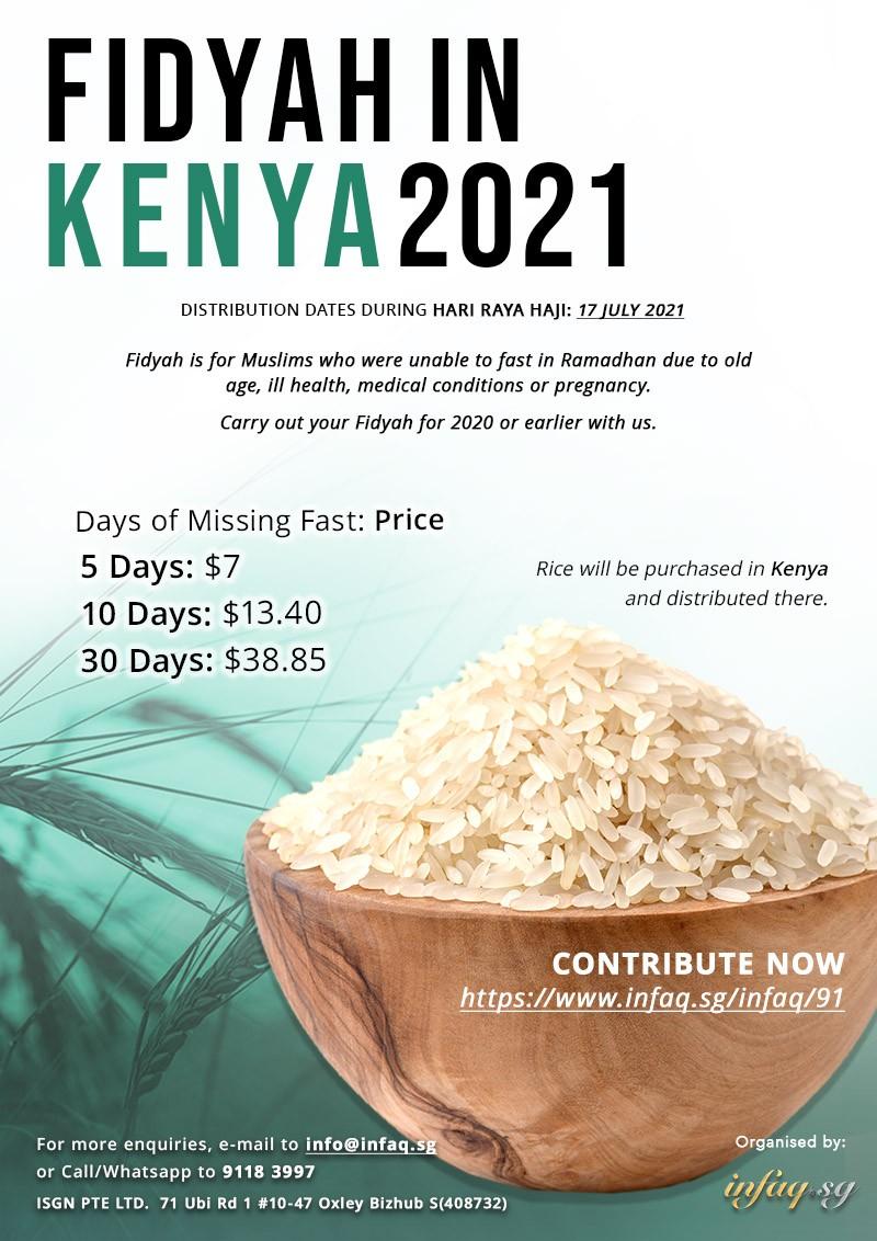 Fidyah in Kenya 2021