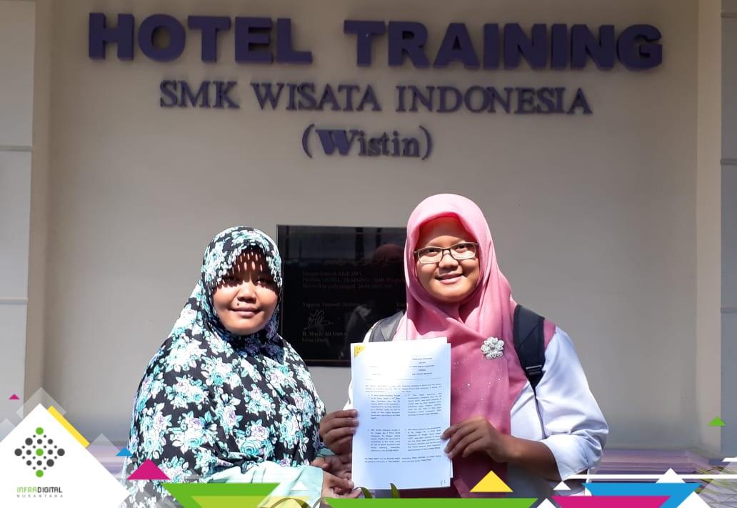 Kini Bergabung, SMK Wisata Indonesia