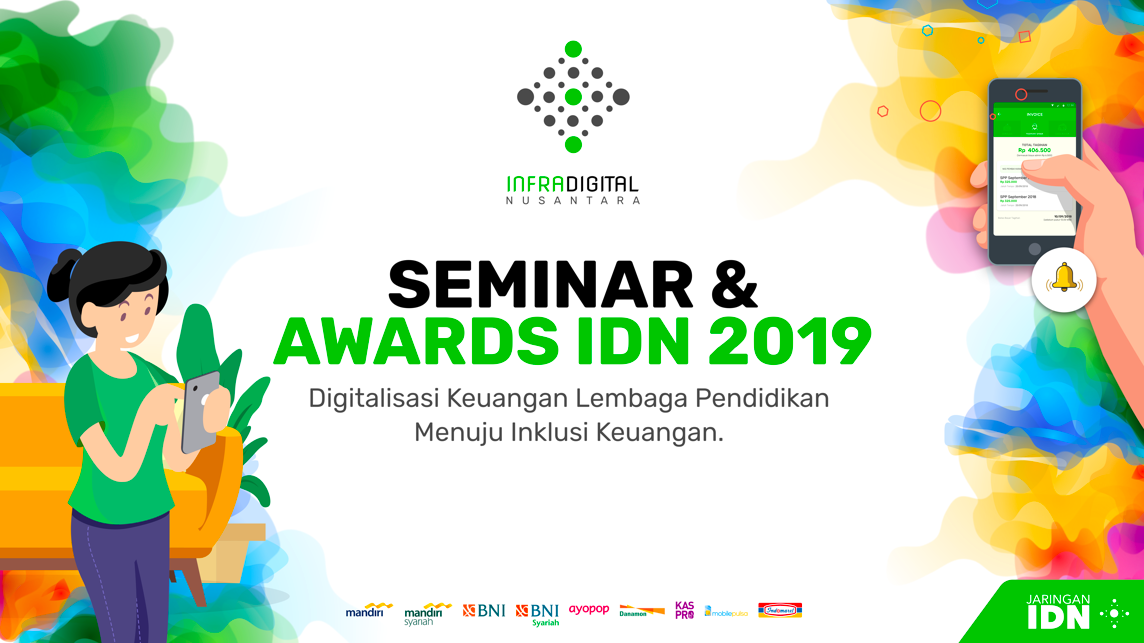 Seminar dan Awards IDN 2019: Perjalanan 12 bulan Jaringan IDN