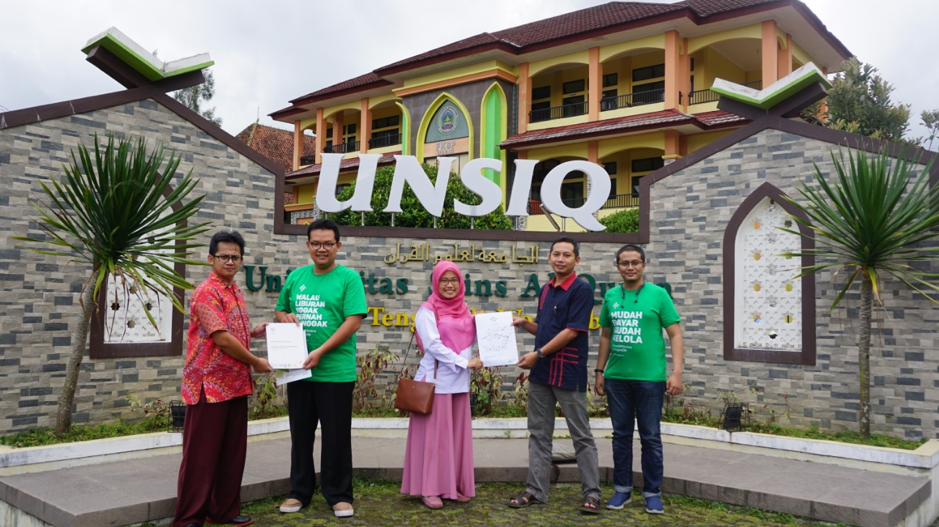 Pertama Kali, Jaringan IDN di Wonosobo, Universitas Sains Al-Qur'an