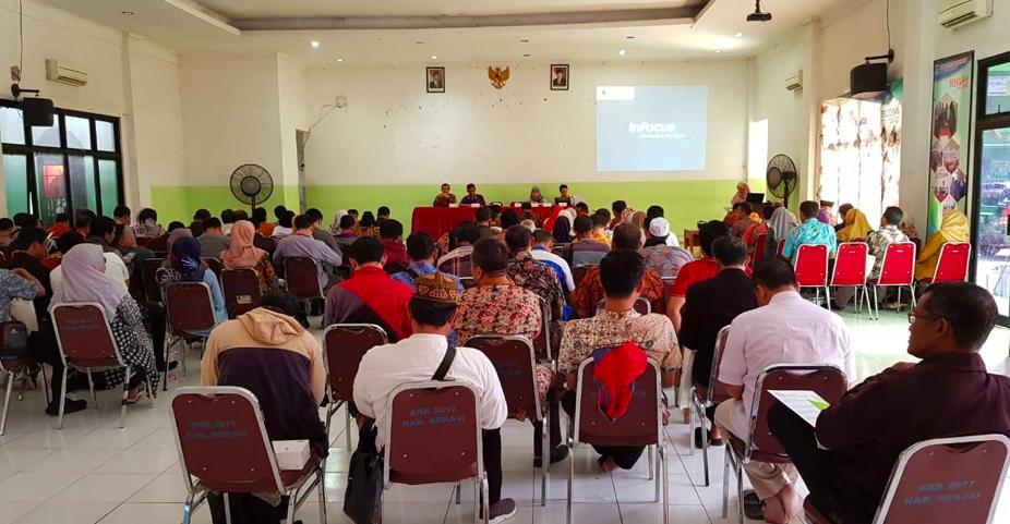 Sosialisasi InfraDigital Nusantara Dalam Pertemuan MKKSMK Kabupaten Bekasi