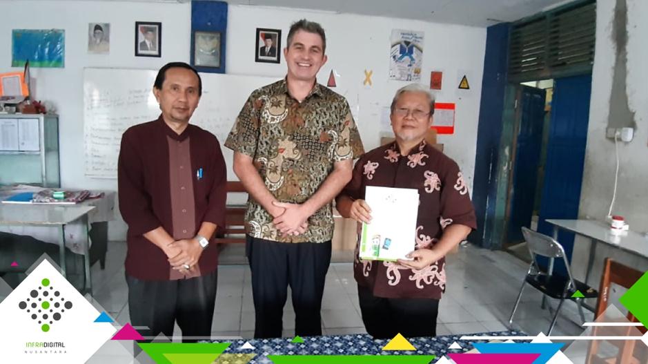 Dua Sekolah, Yayasan Tarbiyatul Muslimin Kota Bogor Gabung Jaringan IDN