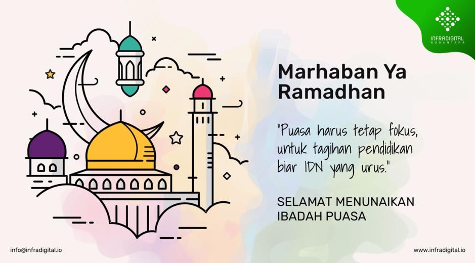 Bulan Ramadan Bayar Pendidikan