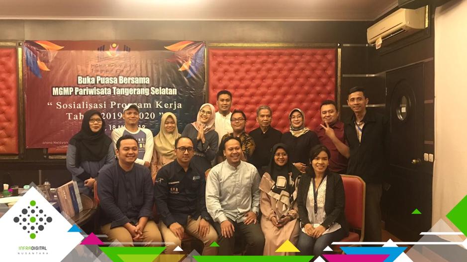 Sosialisasi IDN di Buka Bersama MGMP SMK Pariwisata se Kota Tangerang Selatan