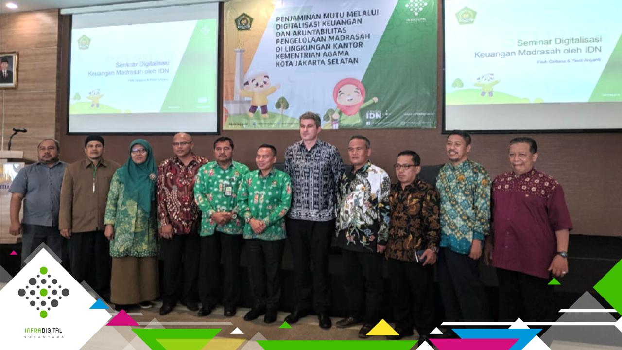 Gandeng InfraDigital Nusantara, Kementerian Agama Kota Jakarta Selatan Dorong Akuntabilitas Madrasah melalui Digitalisasi Keuangan