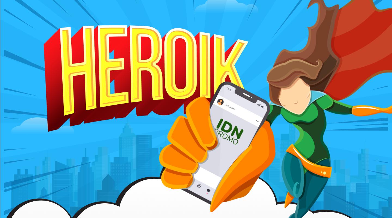 November Heroik (Heboh! Raih Bonus Menarik)  di Jaringan IDN