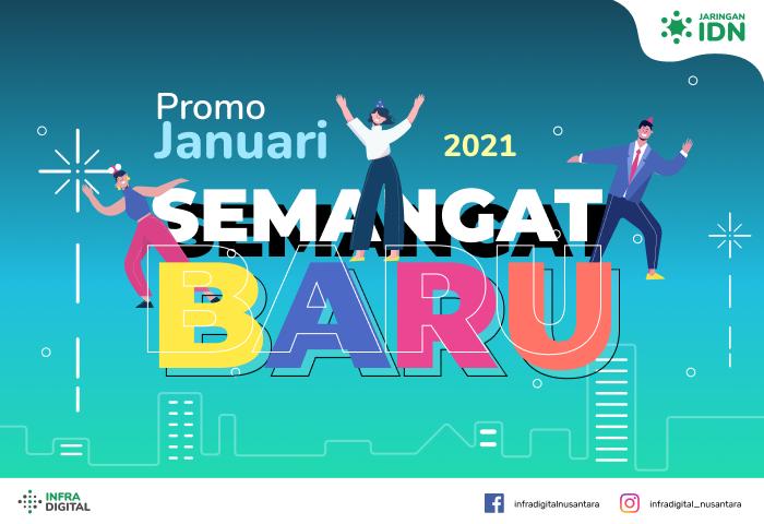 Promo Januari 2021 Jaringan IDN
