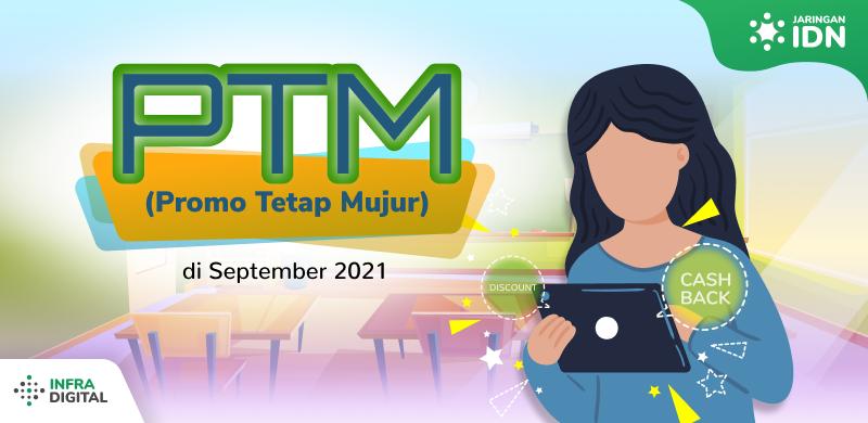 Promo September 2021 Jaringan IDN