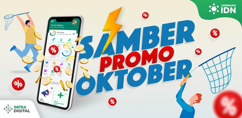 Promo Oktober 2021 Jaringan IDN