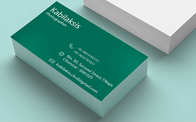 Standard Business Card Printing Online – Visiting Card