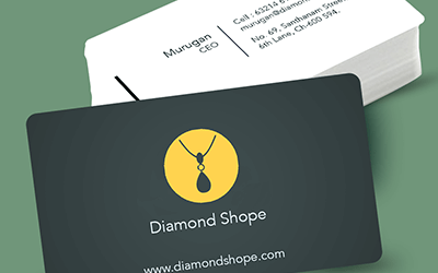 Round Corner Business Card Printing Online – Visiting Card