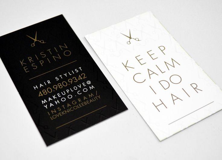 Hair Stylist Business Cards Inkmonk