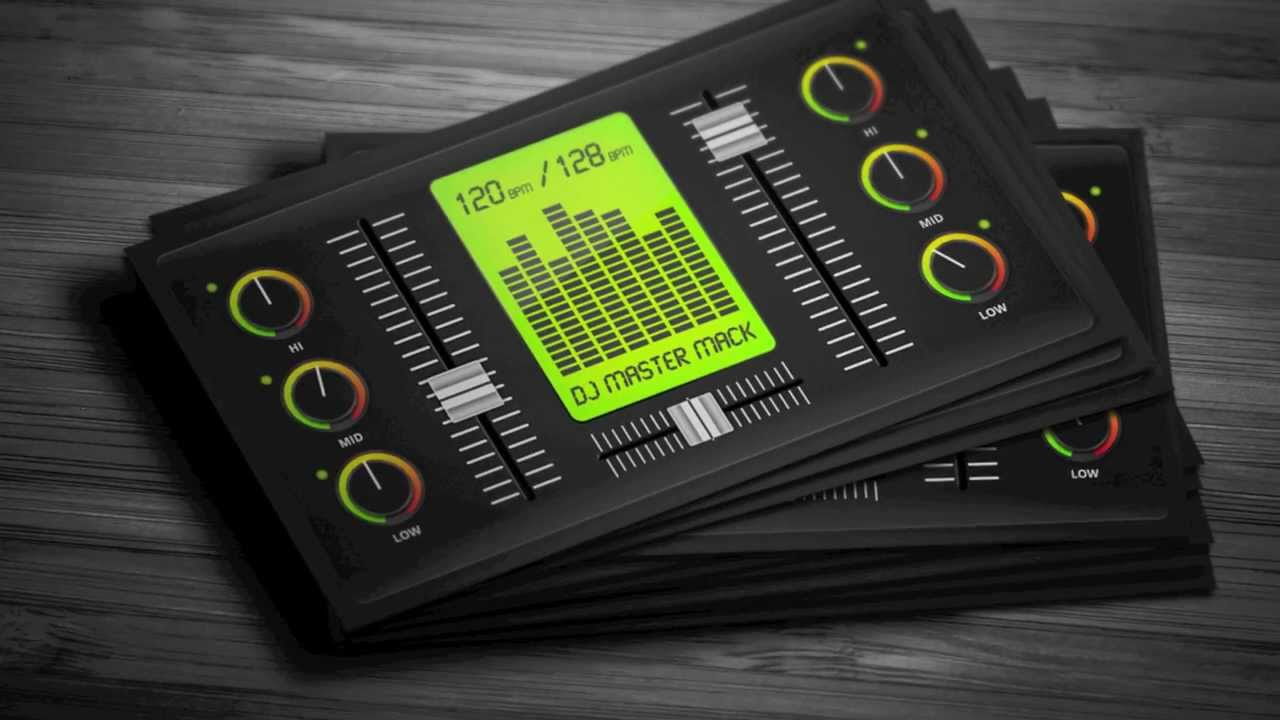 DJ business cards | Inkmonk