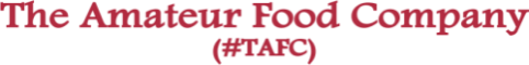 Web Development Internship at The Amateur Food Company (TAFC) in