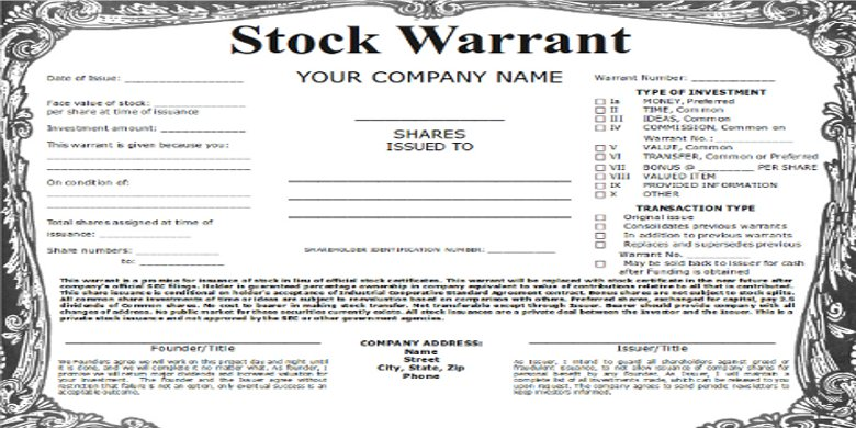 How to deal with listed company issued warrants?