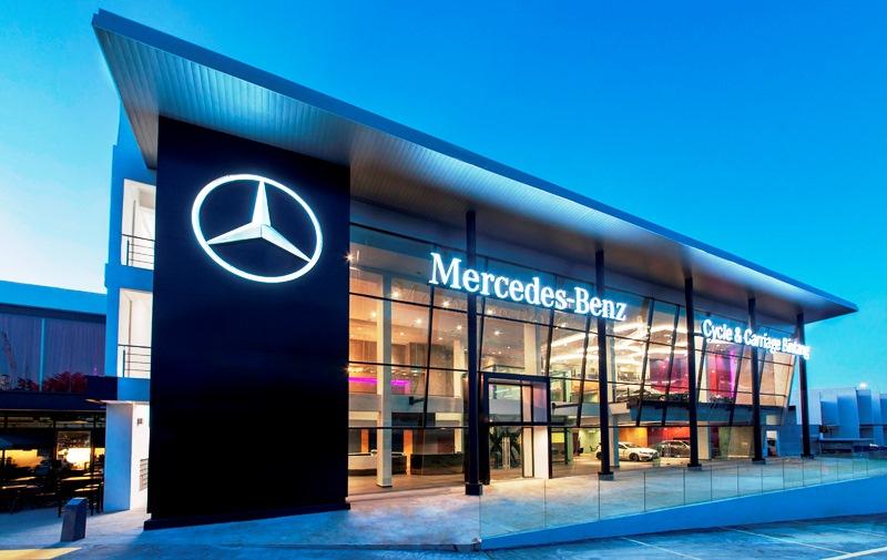 Mercedes benz cycle carriage bintang trec
